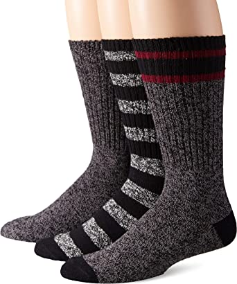 Amazon Essentials Men's Crew Boot Sock
