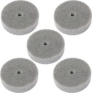 5 Pcs 3 Inch 75mm Fiber Polishing Buffing Wheel Sanding Disc 000-000-147
