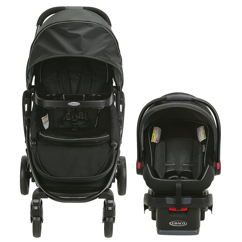 Graco Modes Travel System | Includes Modes Stroller and SnugRide SnugLock 35 Infant Car Seat, Dayton