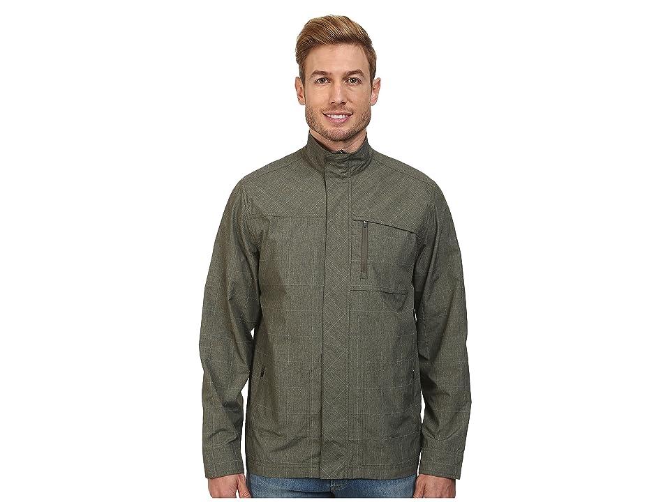 Royal Robbins Lucent Travel Jacket (Light Olive) Men
