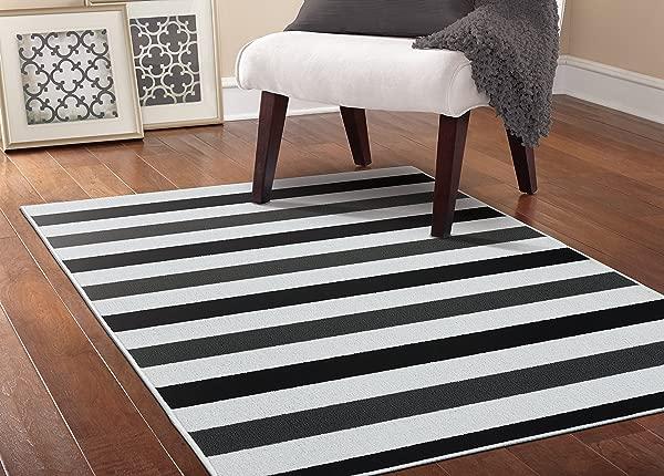 加兰地毯橄榄球区域地毯 5X7 5 黑色煤渣灰色白色