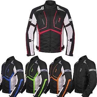 Motorcycle Jacket For Men Textile Motorbike Dualsport...