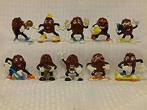 California Raisins, Set of 10, Vintage Calrab, PVC Figurines, Collectible Good Condition, 2