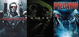 The 80's Sci-Fi Trilogy - The Terminator, Alien and Predator 3-DVD Bundle