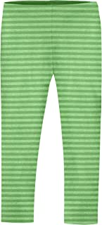 Girls' Leggings in 100% Cotton School Uniform Play - Made in USA!