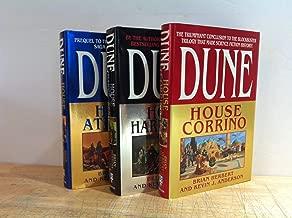 Prelude to Dune Trilogy: House Atreides / House Harkonnen / House Corrino