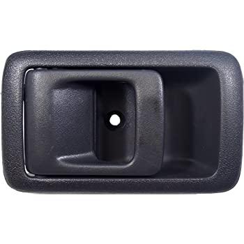 Driver Side PT Auto Warehouse TO-2522G-LH Inside Interior Inner Door Handle Gray