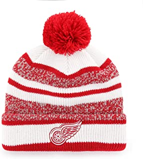 NHL Men's Huset Cuff Knit Cap with Pom