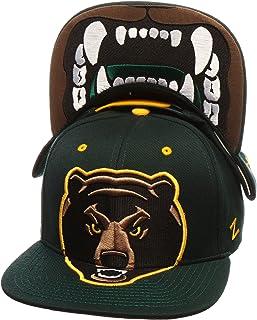 Adjustable Zephyr Standard Baylor Bears National Basketball Championship Hat 2021 Big Rig Team Color
