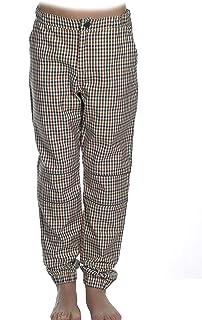 MPL Pantalon Niño a Cuadros Elastico Largo de Algodón. Caliente para el Frio Invierno, Otoño. Ropa de Niños y Niñas Pantal...