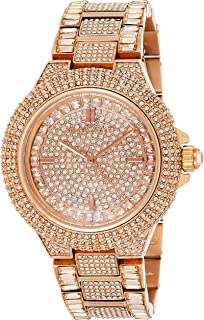 Michael Kors MK5862 Women's Quartz Analogue Watch-Rose Gold Stainless Steel Bracelet