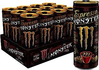 Monster Energy Espresso & Cream, Espresso Energy Drink, 8.4 Ounce (Pack of 12)