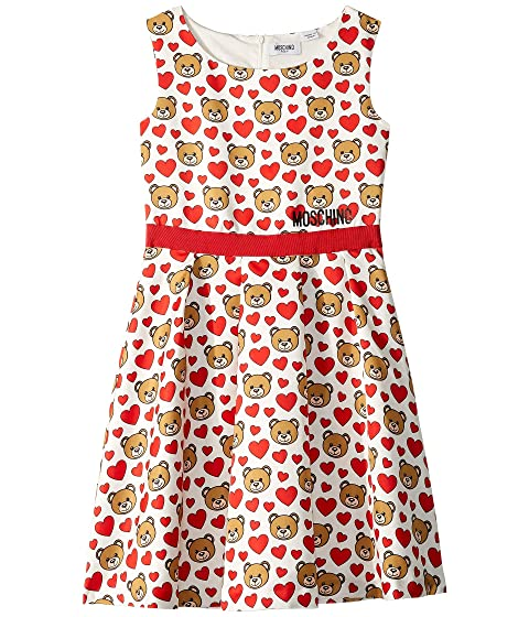Moschino Kids Print Hearts Dress (Big Kids)