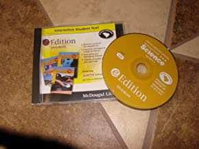McDougal Littell Science South Carolina: eEdition DVD-ROM Grades 6-8 Integrated Science 2007
