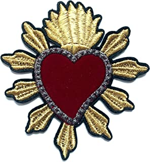 virgin mary iron on patch