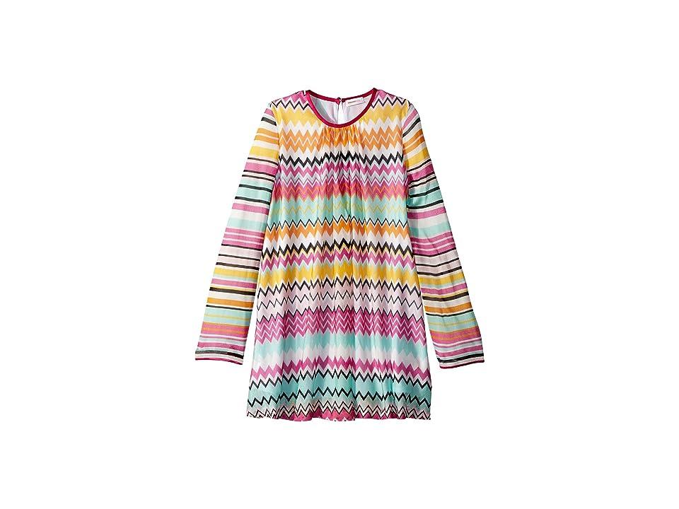 Missoni Kids Knit Zigzag Dress (Big Kids) (Multi) Girl