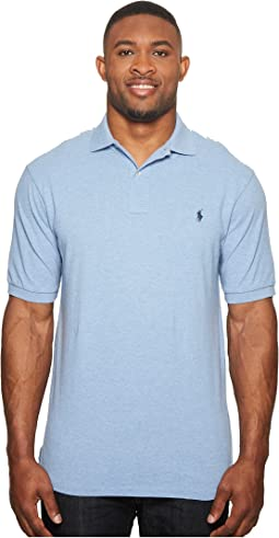 Big and Tall Classic Fit Mesh Polo