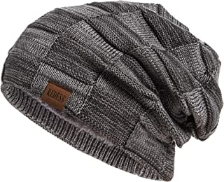 قبعة الجمجمة ريدريس بيني للرجال والنساء، دافئة وسميكة ومتراخية لفصل الشتاء
