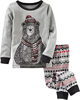 Oshkosh B'gosh Boys' 2-Piece Snug Fit Cotton PJs