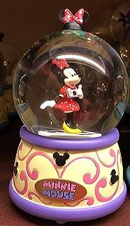 DisneyParks Minnie Mouse Musical Snowglobe