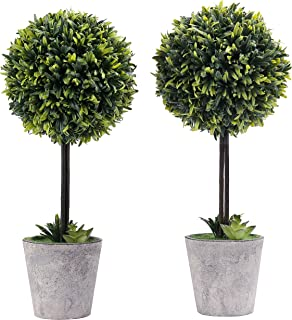 Best outdoor artificial boxwood trees Reviews