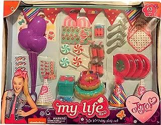 Jojo Siwa My Life As 63 Piece Birthday Party Playset
