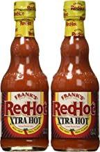 Frank's RedHot EXTRA Hot - Hot Sauce (12 oz Size) 2 Pack