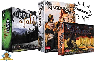 Upon a Fable Board Game Bundle - Featuring Upon A Fable Core Game - Upon A Fable Tree of Wonders and New Kingdoms Expansions! 3 Board Game Lot Bundle!