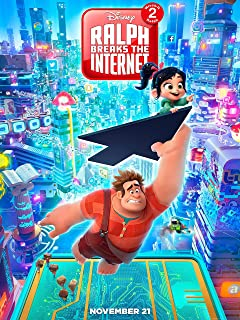 Ralph Breaks The Internet: Wreck-It Ralph 2 Poster Standard Size 18×24 inches