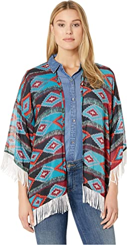Printed Kimono B4-9149