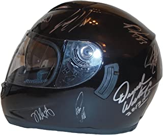 Nascar Sprint Cup Series Autographed Signed Full Size Racing Helmet with 21 Sigs Total Including Jeff Gordon, Dale Earnhardt Jr, Jimmie Johnson and More, Proof Photos of Signing and COA