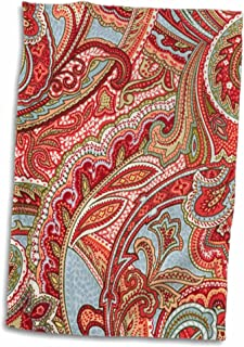 Best red paisley towels Reviews