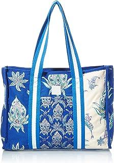 Desigual Womens Fabric Shopping Bag, Blue, U