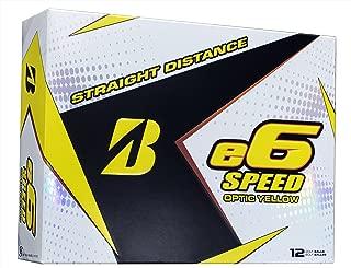 Bridgestone E6 Speed Golf Balls (One Dozen)