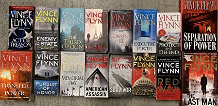 Mitch Rapp Complete Series Set by Vince Flynn 14 Novels
