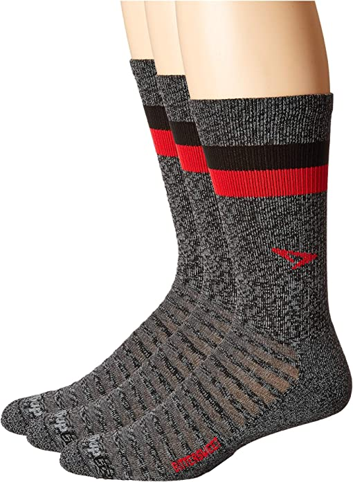 Bittersweet Graphite Heathered/Red/Black Stripes