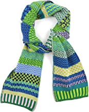 Solmate Scarf for Women or Men, USA Made with Soft Recycled Cotton Yarns