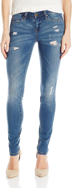 [BLANKNYC] Womens Skinny Classique Distressed Jean