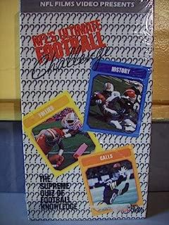 Nfls Ultimate Football Challenge VHS
