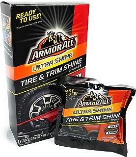 Armor All Ultra Shine Tire & Trim Shine Sponges (8 Sponges) in 1 Box