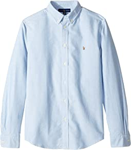 Cotton Oxford Sport Shirt (Big Kids)