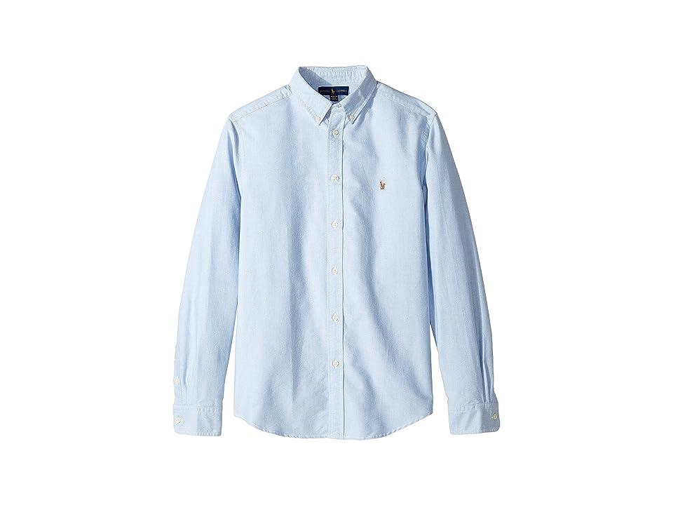8663c8817 UPC 190618460553 product image for Polo Ralph Lauren Kids - Cotton Oxford  Sport Shirt (Big ...