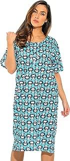Short Sleeve Nightgown Sleep Dress for Women