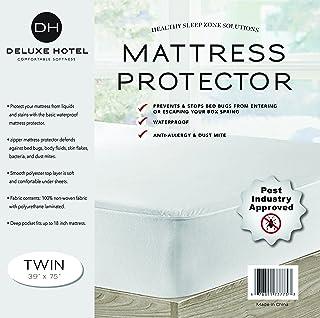 Ultimate Bed Bug Blocker Zippered Waterproof Mattress Protector - 10 YEAR WARRANTY!