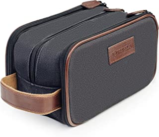 Travel Toiletry Bag - Dopp Kit for Men - Cosmetic Toiletry Bag for Men | Large Portable Bathroom Accessories Kit | Hygiene Shaving bag | Mens Toiletry Travel Bag | Travel Bags for Toiletries Bag