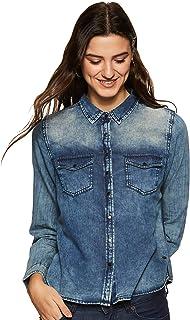 Jealous 21 Women's Plain Regular Fit Shirt