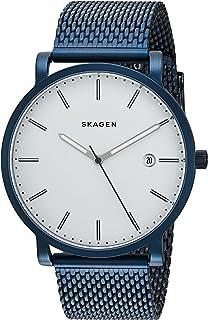 Skagen Mens Quartz Watch, Analog Display and Stainless Steel Strap SKW6326