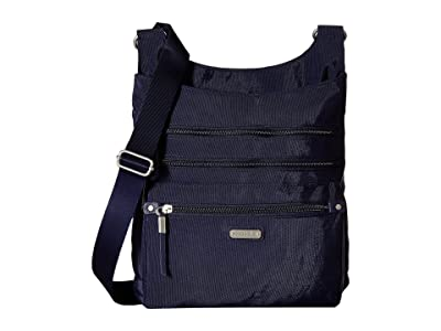 Baggallini New Classic Around Town Bagg with RFID Phone Wristlet (Navy) Bags
