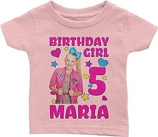 Custom Jojo Siwa Birthday Shirt