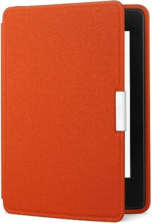 Capa de couro para Kindle Paperwhite, cor laranja (compatível somente com modelos Kindle Paperwhite)